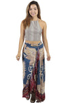 Spirit Owl Ruffled Maxi Skirt