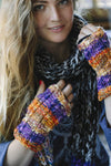 Fun Colorblend Hemp Blend Arm Warmers