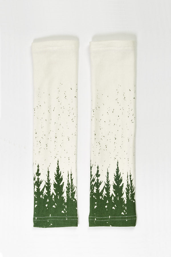 Winter Forest Armwarmers
