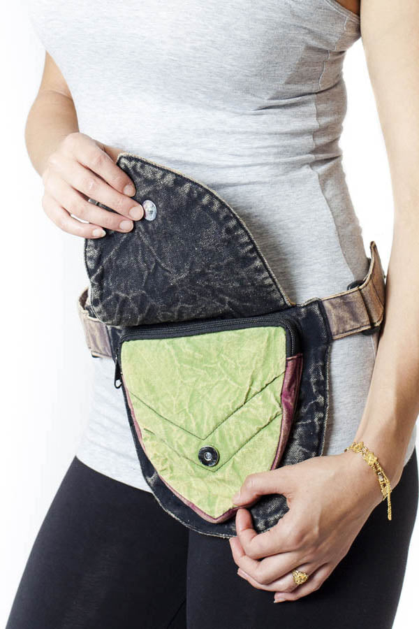 Peter Pan fanny pack utility waist belt bag-Multi-One size