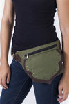 Unisex Cotton Traveller's Hip Bag Belt