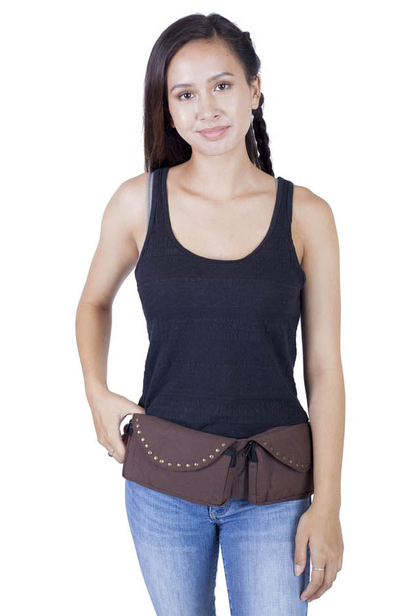 Duo Compact Cotton Hip Pack