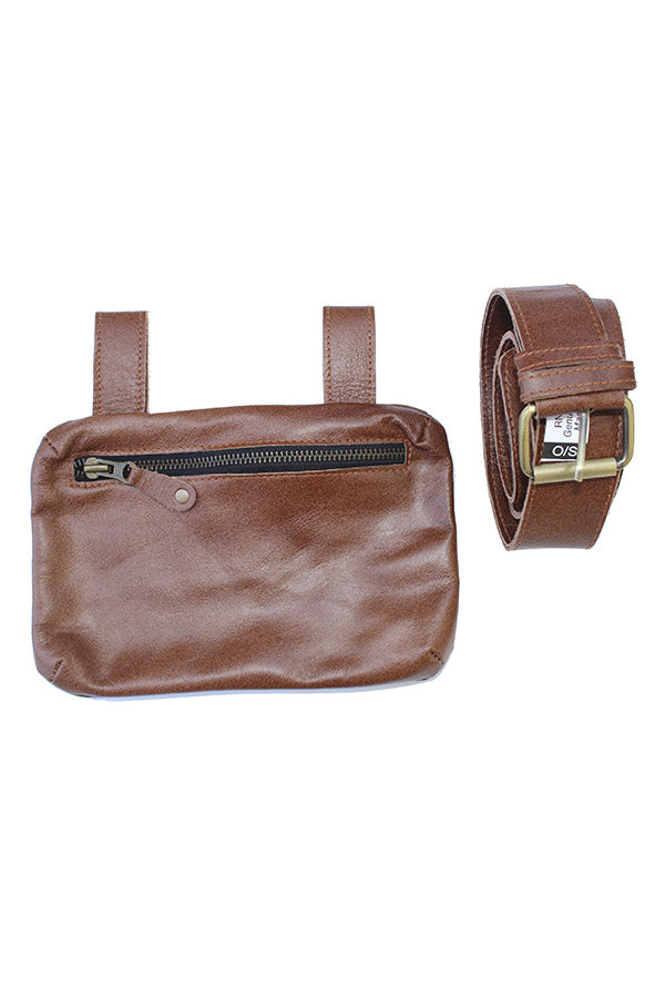 Hang Freely Leather Hip Pack