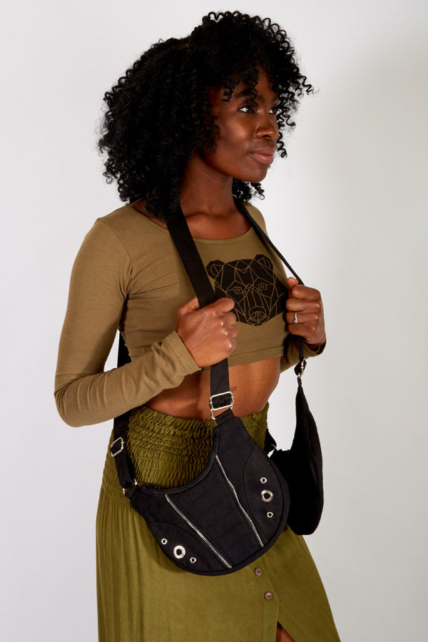 Moto Cotton Holster Shoulder Bag