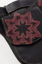 Mandala Vegan Leather Belt Bag