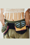 Pixie Three pocket Hip Festival fanny pack Waist Belt Bag
