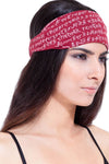 Organic Cotton Mantra Headband