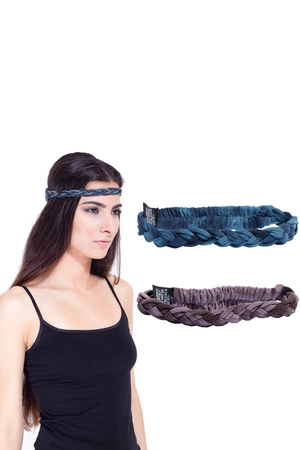Braided Goddess Organic Cotton Headband