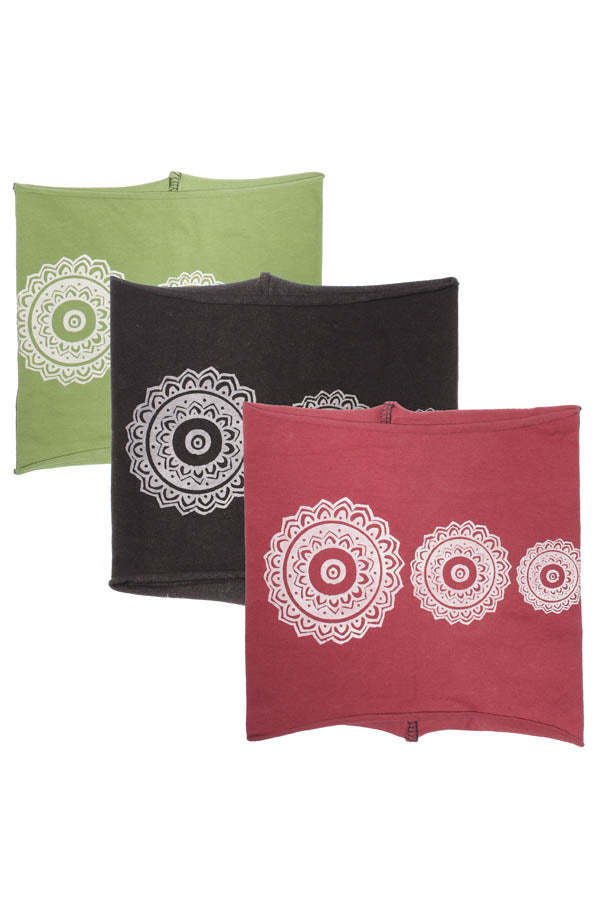 Unisex Tribal Organic cotton headband-12pcs/Pk