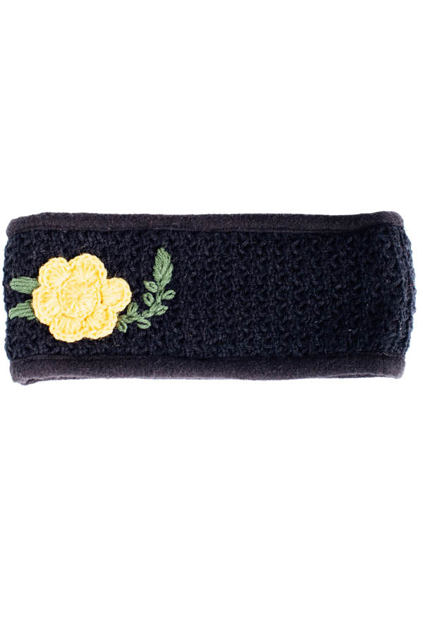 Petal Kiss Winter fleece lined Headband