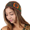 Flower Patch Knitted Hippie Headband