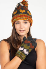 Wool Kint Hearts Hat