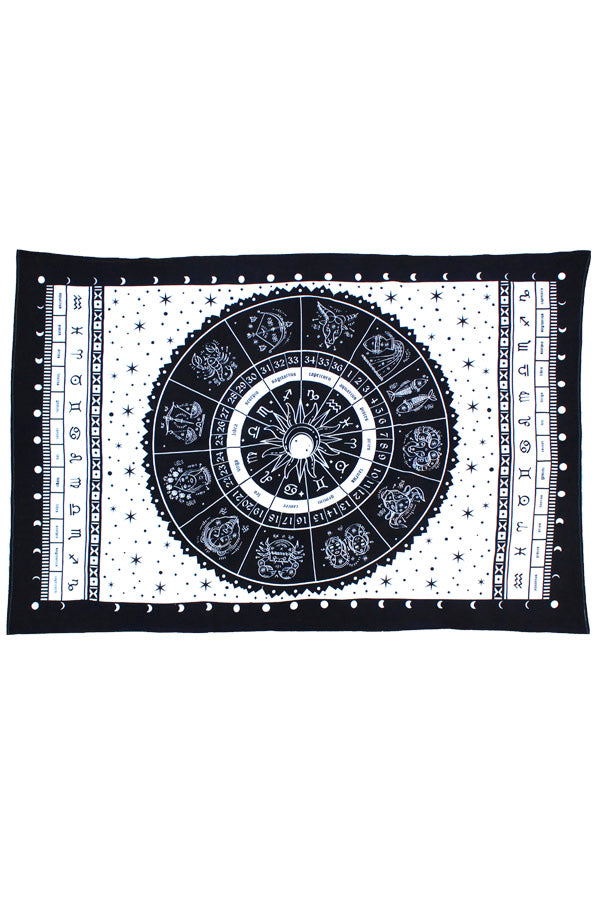 Starry Zodiac Tapestry