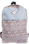 Vintage Aztec Stripe Two-Toned Backpack