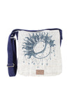Pandora Hemp Messenger Bag