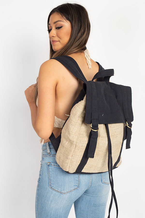 Scout Hemp Canvas Backpack