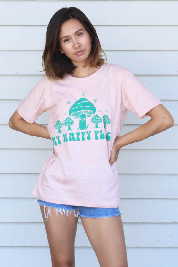 My Happy Place & Third Eye Unisex short Sleeve Graphic T-Shirt's