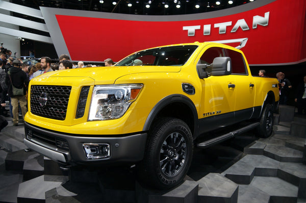 Check Out The American Built 2016 Nissan Titan XD