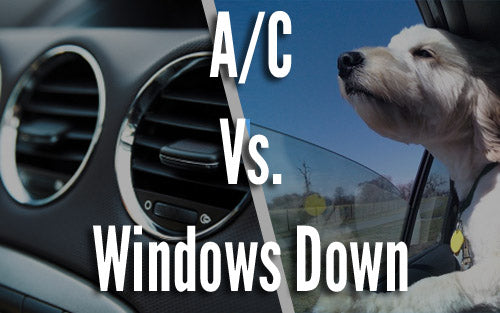 A/C vs windows down