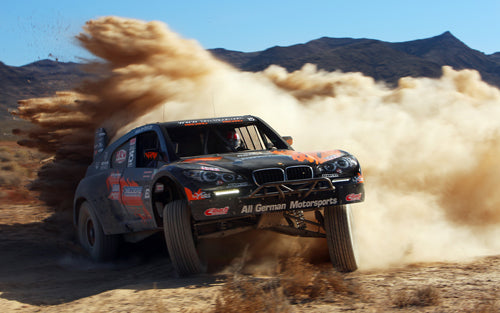bmw-x6-trophy-truck-drifting