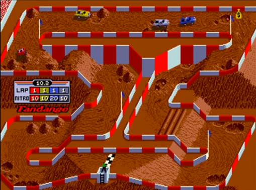 Super Off Road classic arcade game