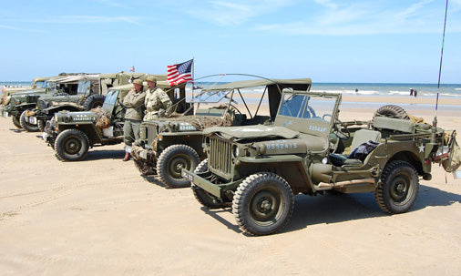 willys overland jeep normandy