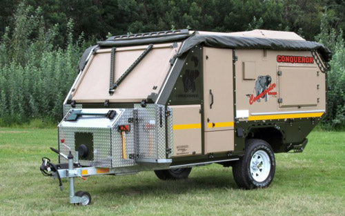 off road camping trailers conquerer