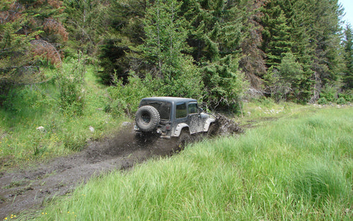 off-roading basics mud ruts