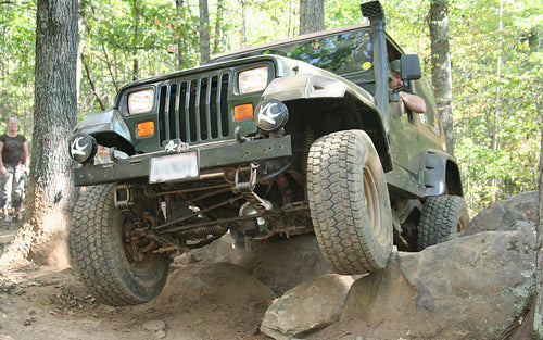 rock crawling basics