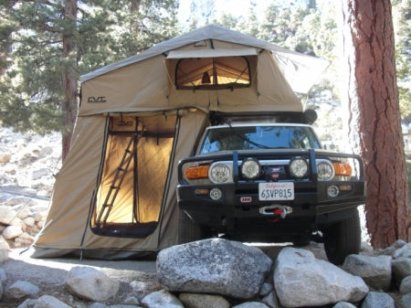 truck camping roof tent