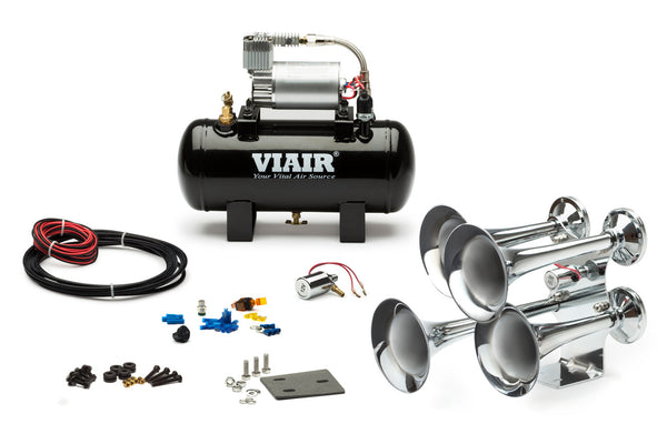 Loud Mouth 120 PSI Quad Train Horn Kit
