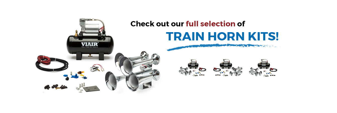 full selection of train horn kits