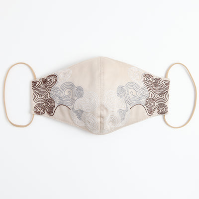 3D Mask/Jomon Rope (Beige)