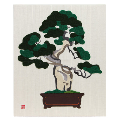 "Interior Fabric Panel/""Shin-paku"" (Juniperus)"
