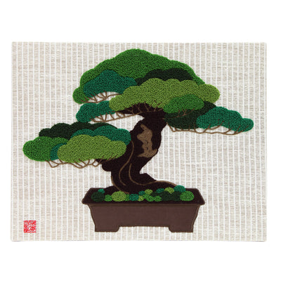 "Interior Fabric Panel/""Goyo-matsu"" (Five Needle Pine)"