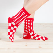 Tabi Socks/Dots and Squares