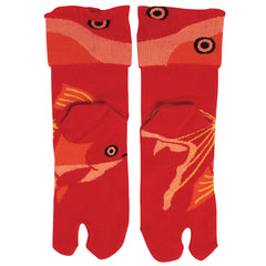 Tabi Socks/Ryukin Goldfish [Red]