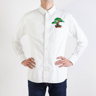Men's Shirt/Pocket Bonsai Five Needle Pine