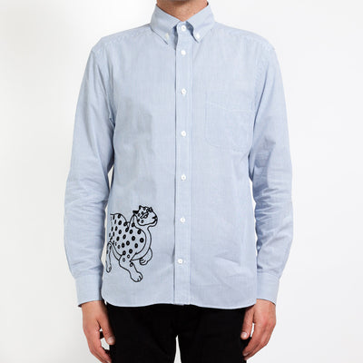 Men's Shirt/Tigers (L-Blue)