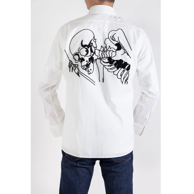 Men's Shirt/Big Skeleton (Back)