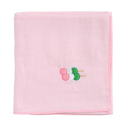 Handkerchief/3 Color Dumplings for Cherry Blossom Viewing