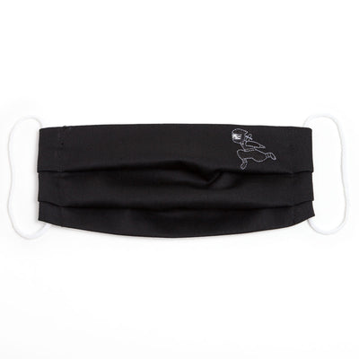 Face Mask/Ninja running (Black)