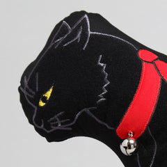 "Cat Cushion/""Kuro"" Black Cat"