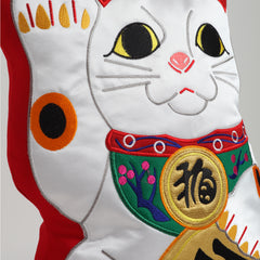 Cushion/Fortune-Cat1 (Red)