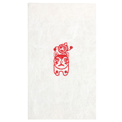 Petit envelope/Komainu the lion-dog/ Drum