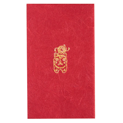 Petit envelope/Komainu the lion-dog [Red]