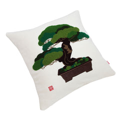 "Cushion Cover/""Goyo-matsu"" (Five Needle Pine)"