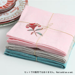 "Tea Towel	/""Keito"" (Cockscomb)"