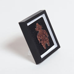 Mini Art Frame/The light-shielding device Clay Figure