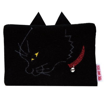 "Tissue Case/""Kuro"" Black Cat"